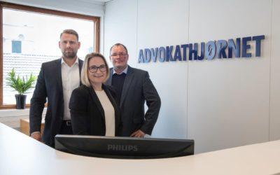 Velkommen til vårt nyoppussede advokatkontor i Lyngdal!