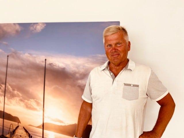 Sommer og feiring av advokat Antoni Abrahamsen